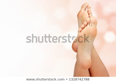 ног · женщину · аннотация · копия · пространства · девушки · здоровья - Сток-фото © Nobilior