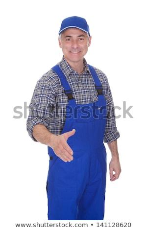 Mature technician gesturing Stock photo © wavebreak_media