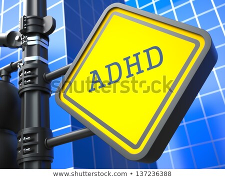 Medical Concept. ADHD Waymark. Stock photo © tashatuvango