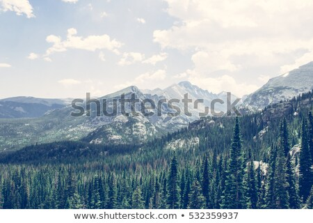 Red Mountain in Colorado Stock photo © PixelsAway