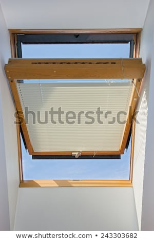 Skylight with diagonal blinds Stock photo © ABBPhoto