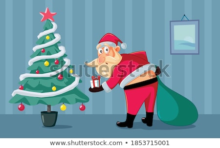 presentes · saco · colorido · natal - foto stock © marimorena