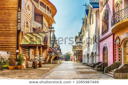 クレムリン 美しい 写真 モスクワ ロシア 壁 ストックフォト © sailorr