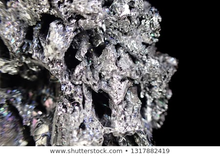 Stock photo: syntetic corundum mineral