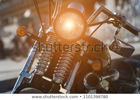モータ 自転車 詳細 通り 道路 金属 ストックフォト © vwalakte