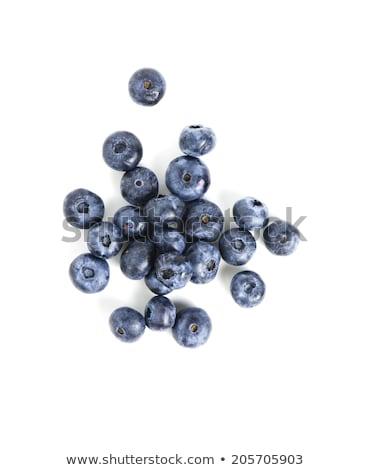 Handful of blueberries isolated on white background Stock photo © Nejron