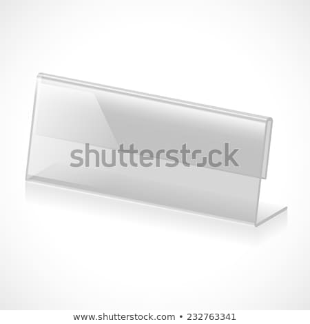 Information Concept on Label Holder. Stock photo © tashatuvango