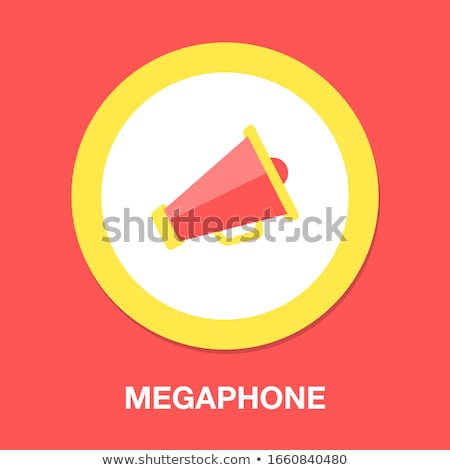 Vector loudspeaker illustration Stock photo © Mr_Vector