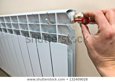 beige water radiator stock photo © aetb
