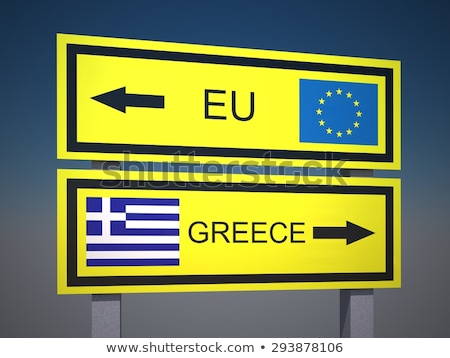 greece and eu solution stock photo © creisinger