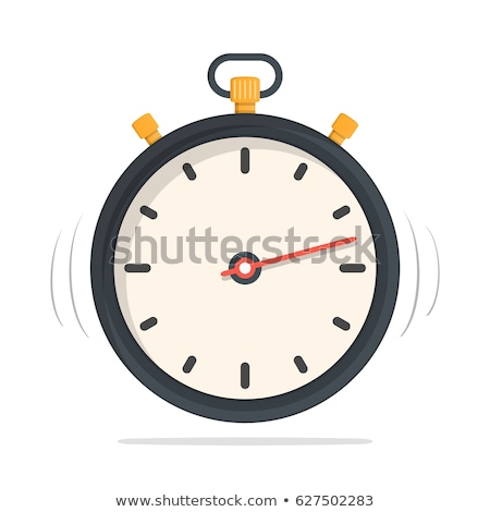 Stop Watch Yellow Vector Icon Design Stock photo © rizwanali3d