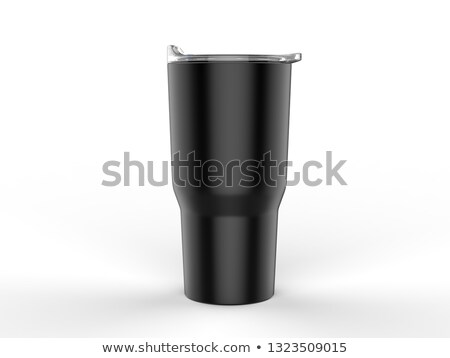 Thermo flask isolated Stock photo © ozaiachin