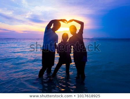 отпуск Воспоминания фотографий пляж фон кадр Сток-фото © grafvision