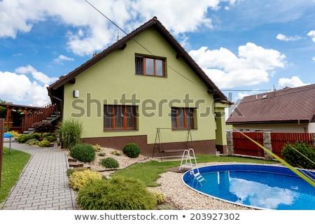 Repaired Rural House Zdjęcia stock © Artush