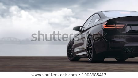 rear view of a vehicle tuning Stock photo © philipimage