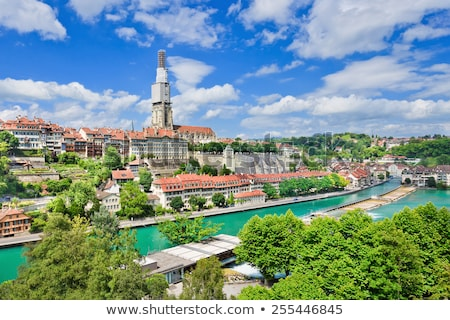 View on the enchanting old town of Bern, Switzerland Stock photo © michaklootwijk