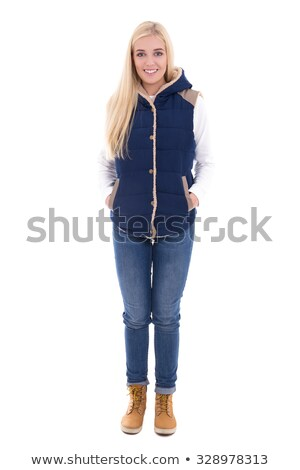 常設 女子 時髦 棕色 靴子 商業照片 © phbcz