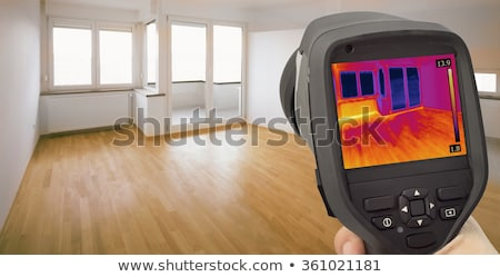 Recording Radiator Heater with Infrared Thermal Camera Stock photo © smuki