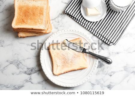 Torrado pão manteiga comida Foto stock © Digifoodstock