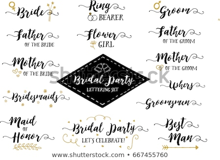 trouwringen · pijl · diamanten · ring · bruiloft · band - stockfoto © iconify