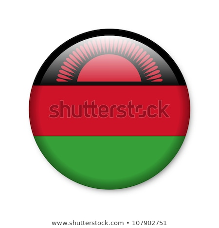 Malawi flag button Stock photo © ojal