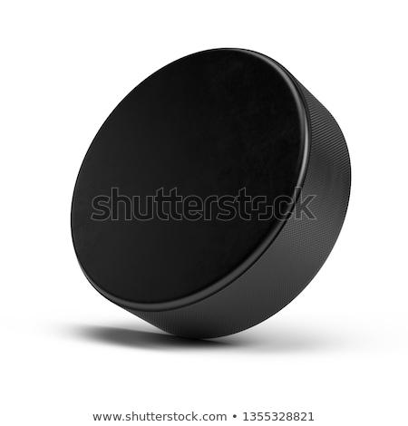 3D Hockey Puck Stock photo © klss