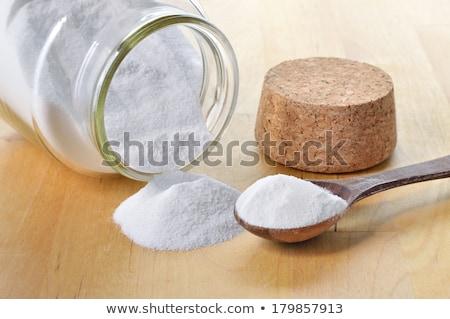 soda · sódio · madeira · branco - foto stock © yelenayemchuk