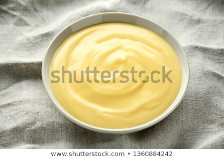 Vla room voedsel ei achtergrond melk Stockfoto © M-studio