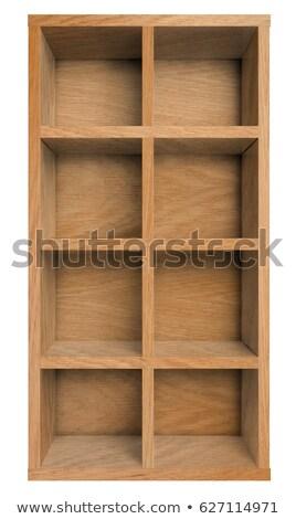 Office cabinet shelf isolated on white background Stock photo © Elnur
