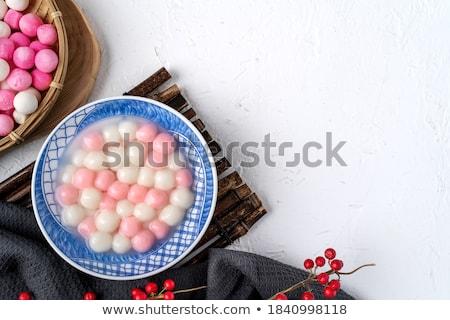 中国語 冬 至 祭り 翻訳 再会 ストックフォト © meikis