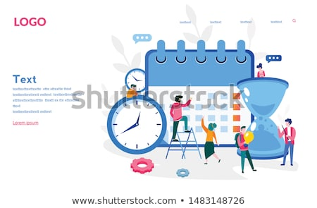 infographic business management template stock photo © sarts