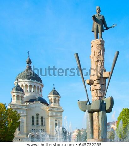православный · собора · город · Румыния · Церкви · мнение - Сток-фото © joyr