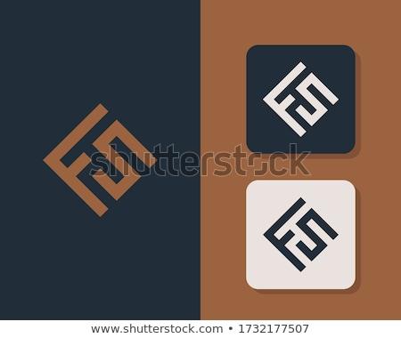 Foto stock: Logotipo · negócio · abstrato · projeto · rede · carta