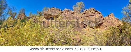 индийской ручей стены рок Юта Соединенные Штаты Сток-фото © pedrosala