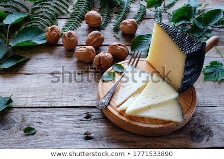 клин · сыра · молоко · завтрак - Сток-фото © monkey_business