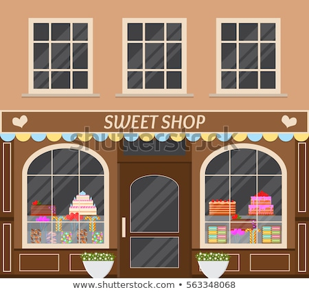 конфеты · магазин · красочный · рисунок · интерьер · торты - Сток-фото © stevanovicigor