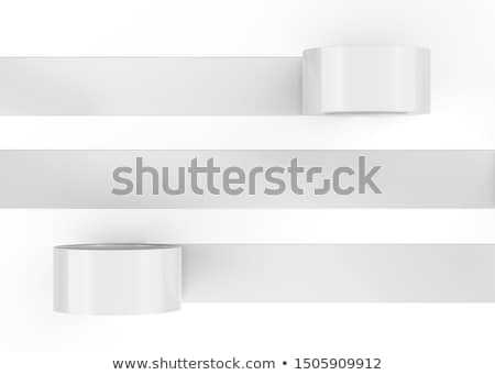 3d duct tape mockup template design Stock photo © SArts
