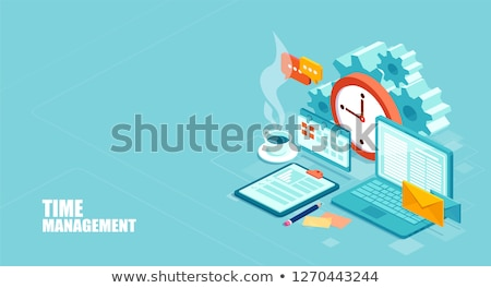 Time To Implementation - Business Concept. Stock photo © tashatuvango