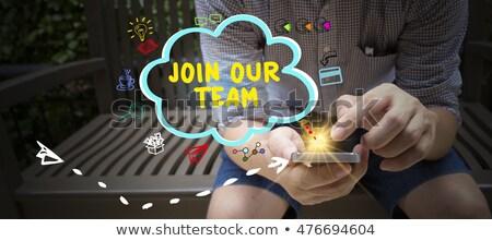 web · içerik · editör · 3D · küçük · reklam - stok fotoğraf © tashatuvango