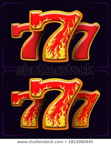 Sizzling Hot Cash Stock photo © blamb