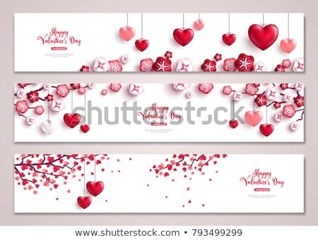 saint valentines banners stock photo © alexaldo