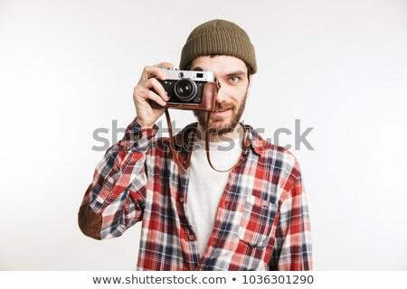 человека фотография работу костюм Сток-фото © wavebreak_media