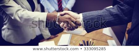 Africano empresários negócio corporativo pessoas de negócios Foto stock © studioworkstock