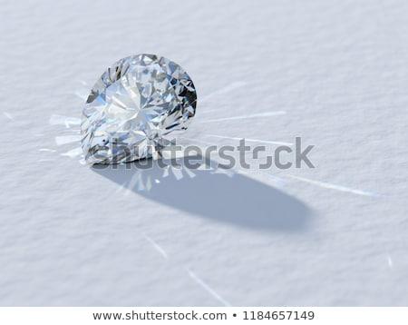 Diamond pear shape Stock photo © biv