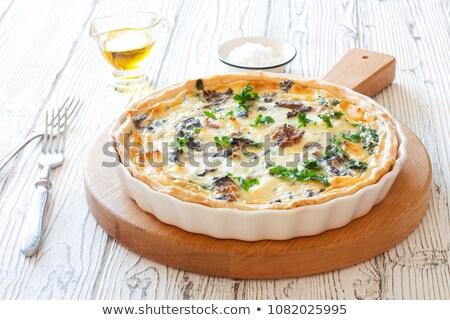 Greggio torta crostata pizza alimentare sfondo Foto d'archivio © M-studio
