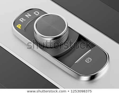 Rotary knob style gear selector Stock photo © magraphics
