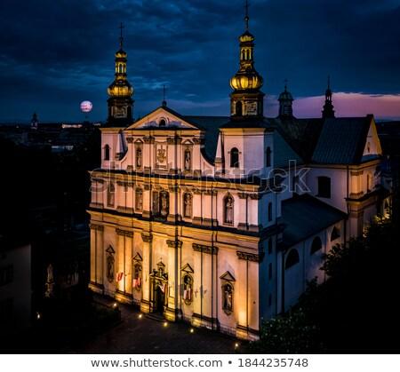 Templom Krakkó Lengyelország angyal Stock fotó © wjarek