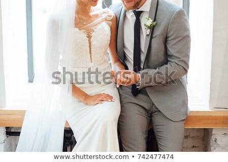 Recém-casados sessão família mulheres Foto stock © ruslanshramko