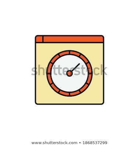 gösterge · paneli · hızölçer · güç · ikon · yalıtılmış - stok fotoğraf © kyryloff