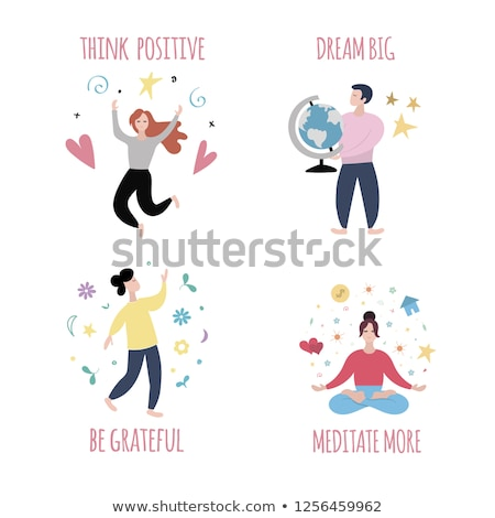 Law of Attraction, Attract Positive Energies Stock photo © olivier_le_moal